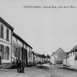 Rue principale vue de la Place